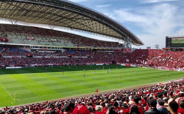 2019 浦和レッズ vs ジュビロ磐田 スタジアム観戦