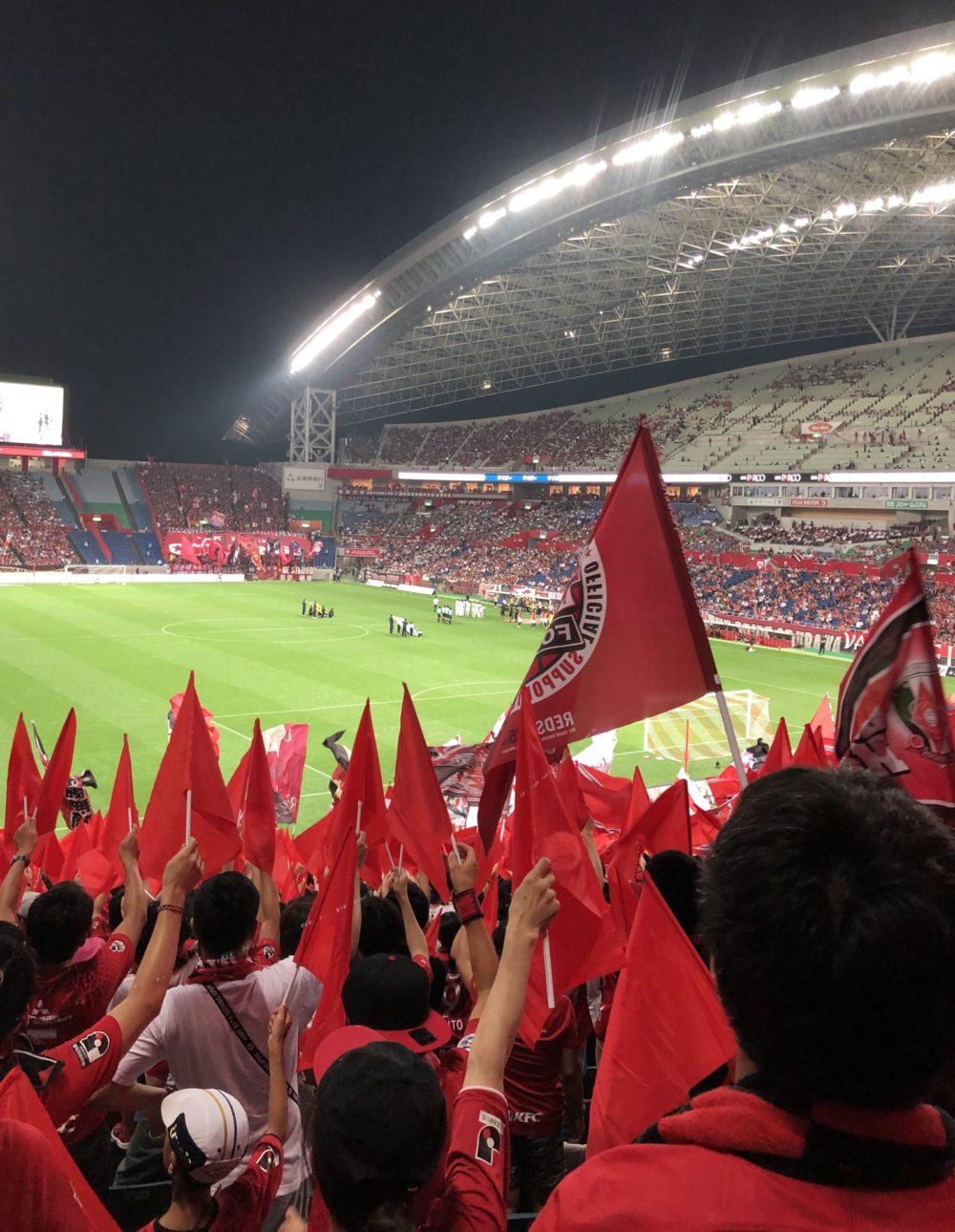北スタンド 応援 埼玉スタジアム 浦和レッズ