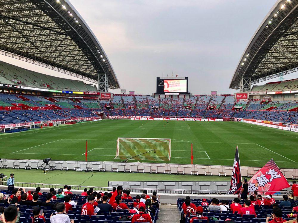 南スタンド 中央付近 埼玉スタジアム