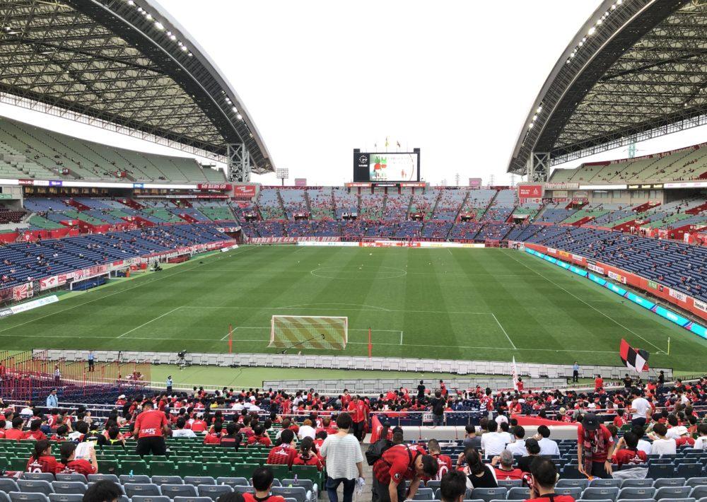 南スタンド 埼玉スタジアム 上の方の席